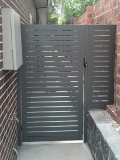 Woodland Grey Gate and Side Panel