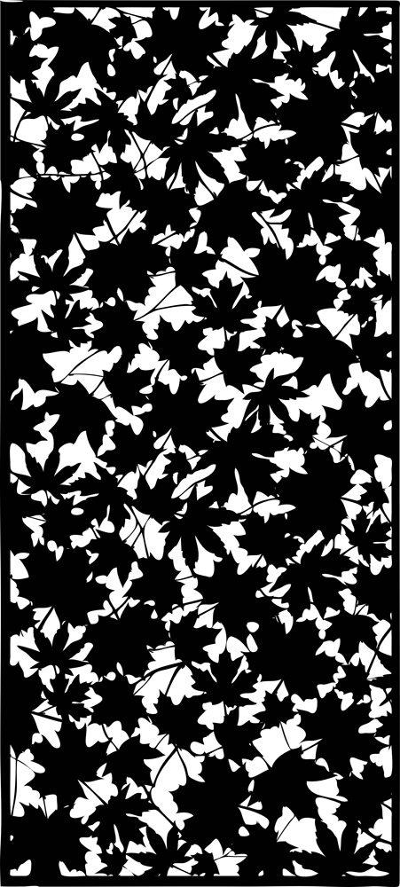 Maple Leaf laser cut design