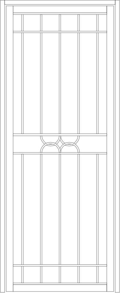 Dorrigo steel door