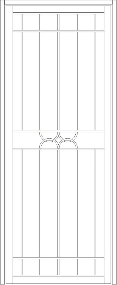 Dorrigo steel door