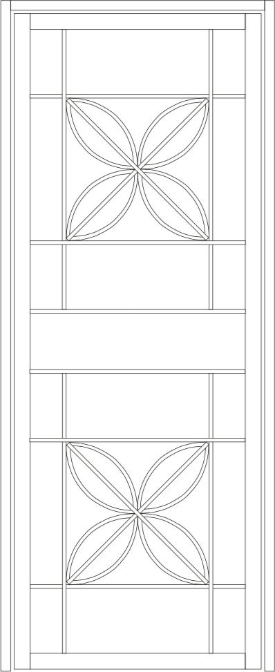 Flowerdale steel door