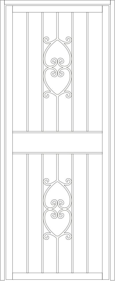 Katoomba steel door