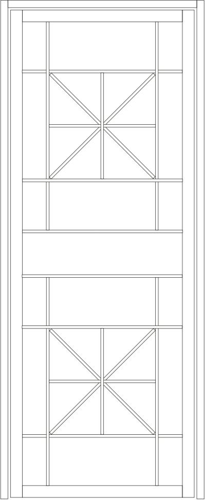 Vaucluse steel door