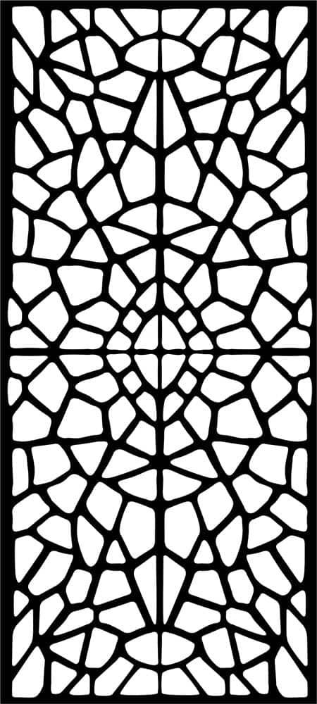 Fragment laser cut design