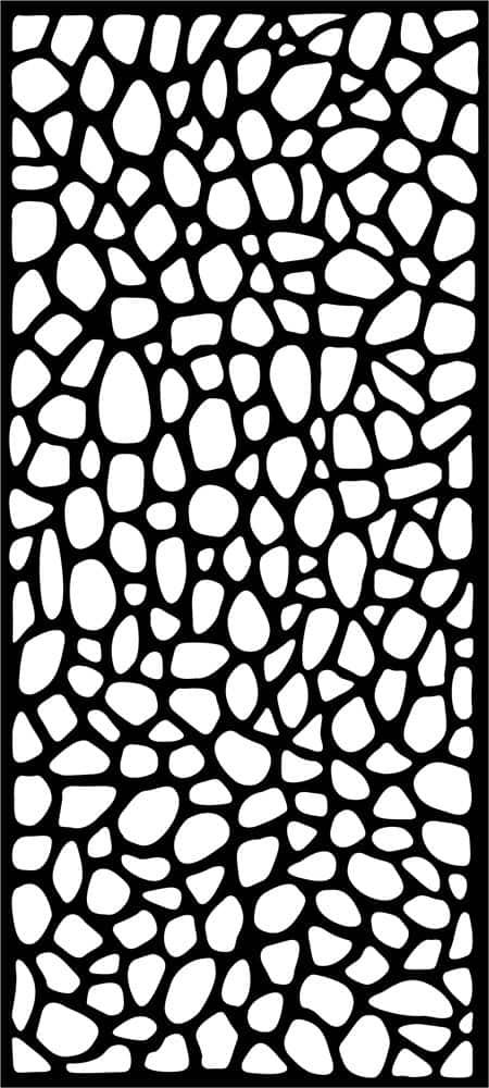 Stone laser cut design