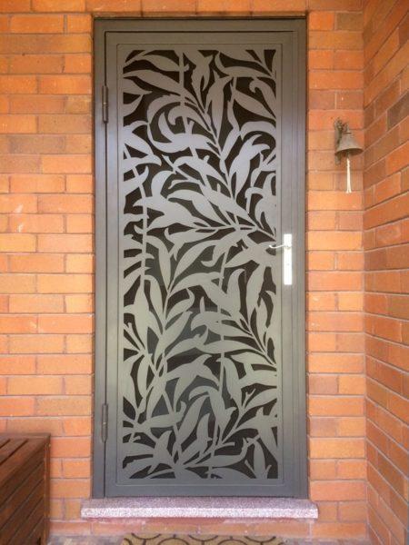 laser cut screen door