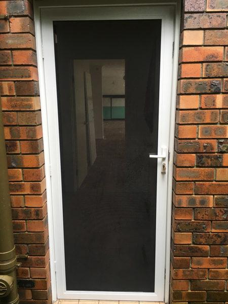 mesh security door
