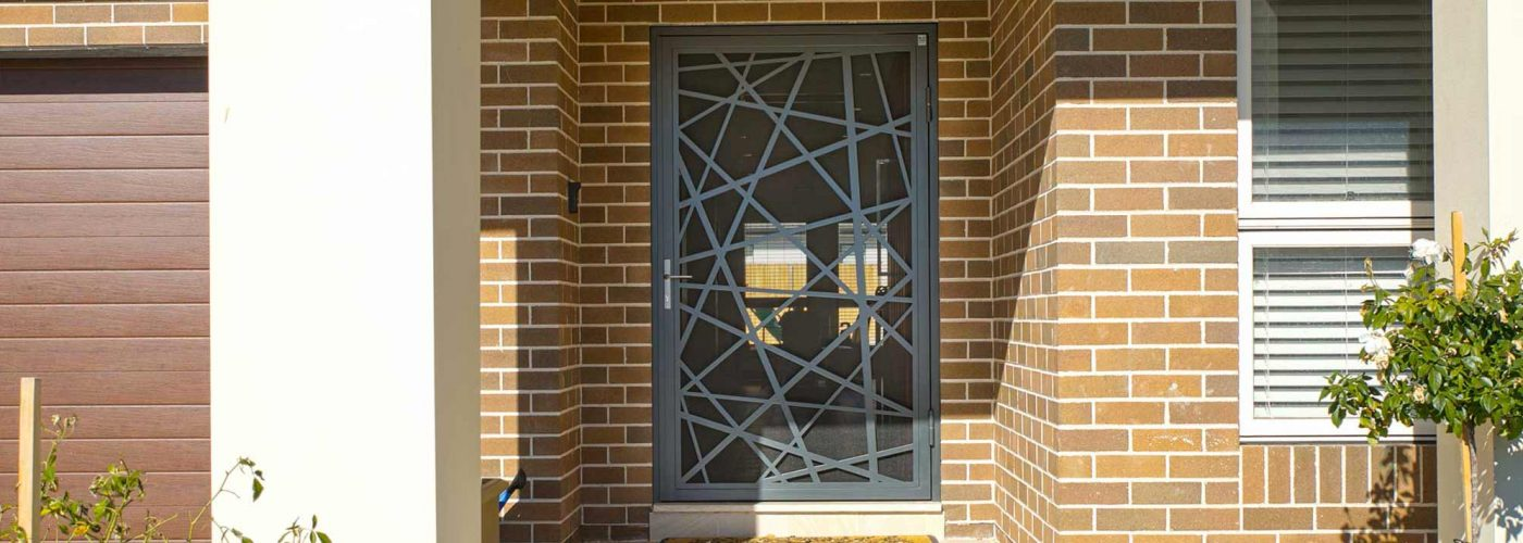 laser cut screen doors