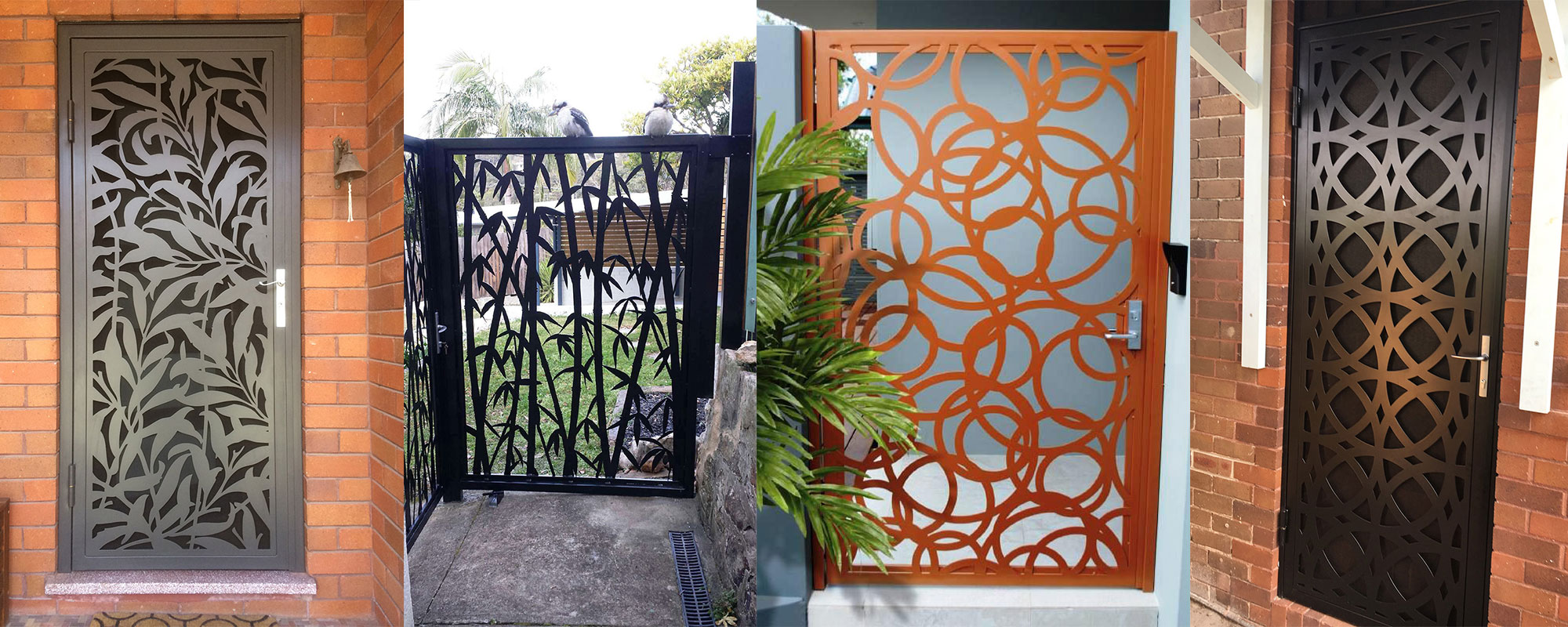 Laser Cut Screens & Doors