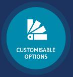 customisable options