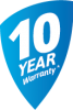 10 year Warranties-badge